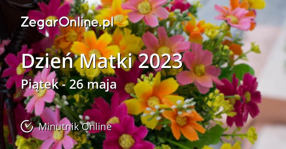 Dzień Matki 2023