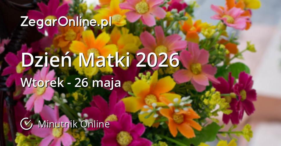 Dzień Matki 2026